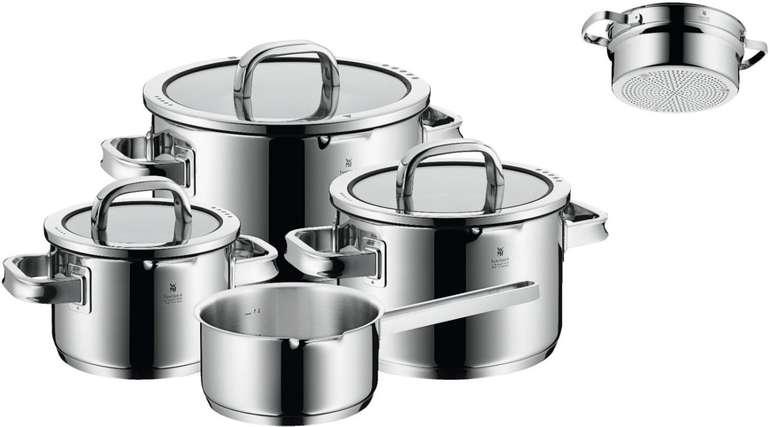 WMF Function 4 Black Topf-Set 4+1-teilig mit Stielkasserolle für 232,10€ inkl. Versand (statt 263€)