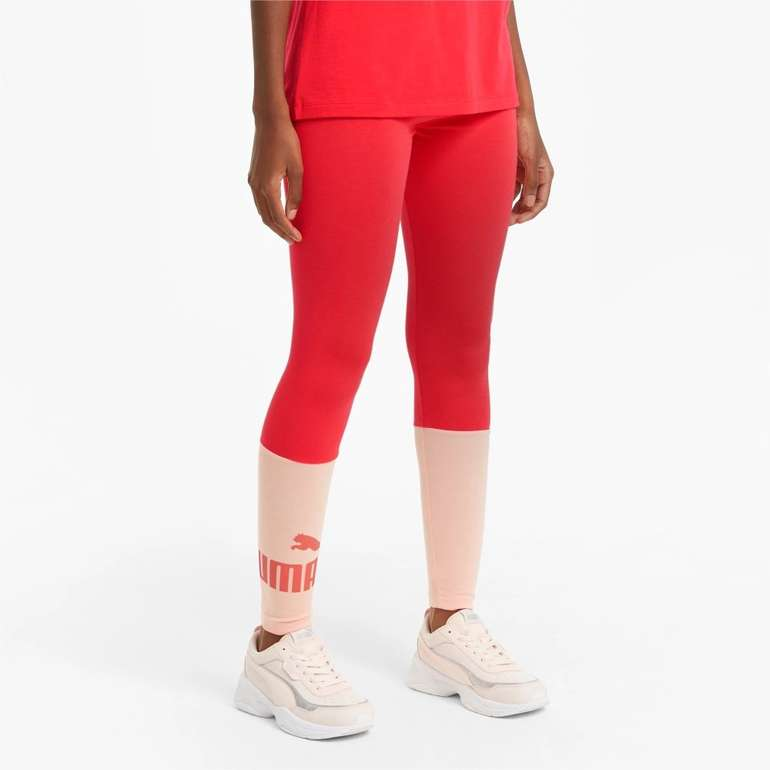 Puma Essentials+ Colourblock Damen Leggings für 11,96€ inkl. Versand (statt 15€)
