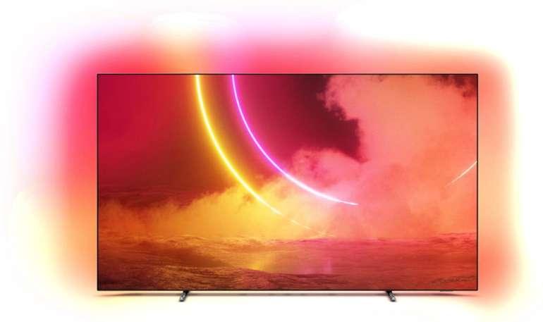 "Philips 65OLED805 - 65"" OLED UHD Ambilight Smart-TV (120Hz, Android, Modelljahr 2020) für 1351,20€ (statt 1699€)"