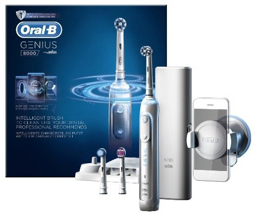 Elektrische Zahnbürste: Oral-B Genius 8000N für 75,95€ inkl. Versand