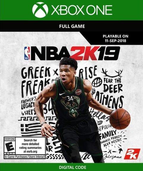NBA 2K19 (Xbox One) für 9,89€ (Download Code)
