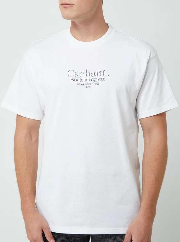 Carhartt T-Shirt mit Logo in Weiß für 20€ inkl. Versand (statt 37€)