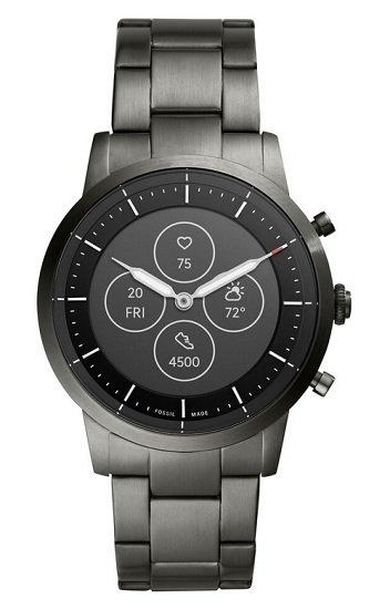 Fossil FTW7009 Herren Hybrid Smartwatch Collider HR mit großem Display für 186,15€ (statt 219€)