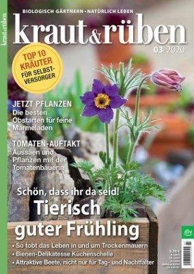 """Jahresabo """"Kraut & Rüben"""" für einmalig 37,20€ (statt 74,90€)"""