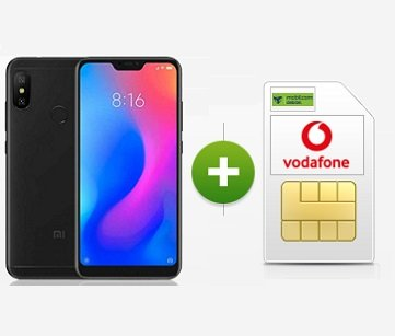 Mobilcom-Debitel Vodafone AllNet-Flat mit 4GB + Redmi Note 6 Pro 16,99€ mtl.