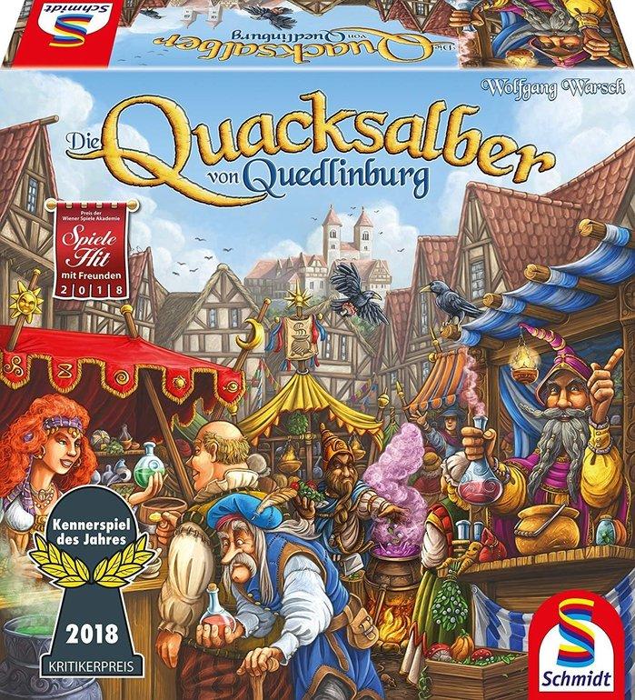 Schmidt Spiele - Die Quacksalber von Quedlinburg (49341) für 13,99€ (Prime)