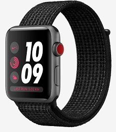 Apple Nike+ LTE Smartwatches 38mm / 42mm im Angebot z.B. Nylonarmband 313,97€