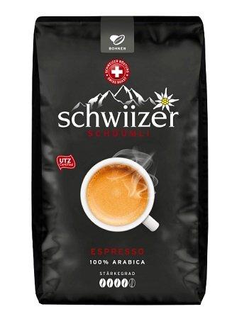 Italienisches Wochenende bei Saturn z.B. SCHWIIZER Espresso, Kaffeebohnen 5,99€