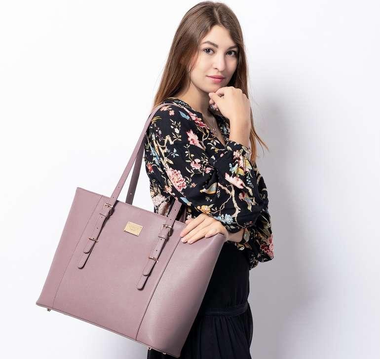 Lovevook Damen Laptop Handtasche in 7 Farben für je 23€ inkl. Versand (statt 46€)
