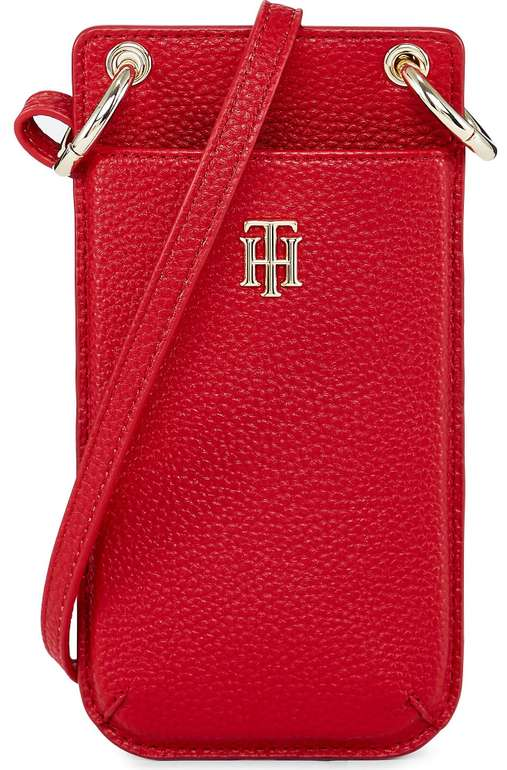 Tommy Hilfiger Handy-Tasche in Rot für 44,59€ inkl. Versand (statt 54€)
