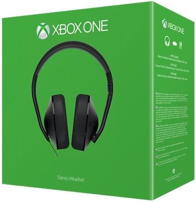 Microsoft Xbox One Stereo Headset für 36,99€ inkl. VSK (Masterpass)