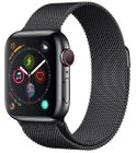 Apple Watch 4 GPS + LTE Edelstahl (40mm, Space Schwarz, Edelstahlarmband) 599€