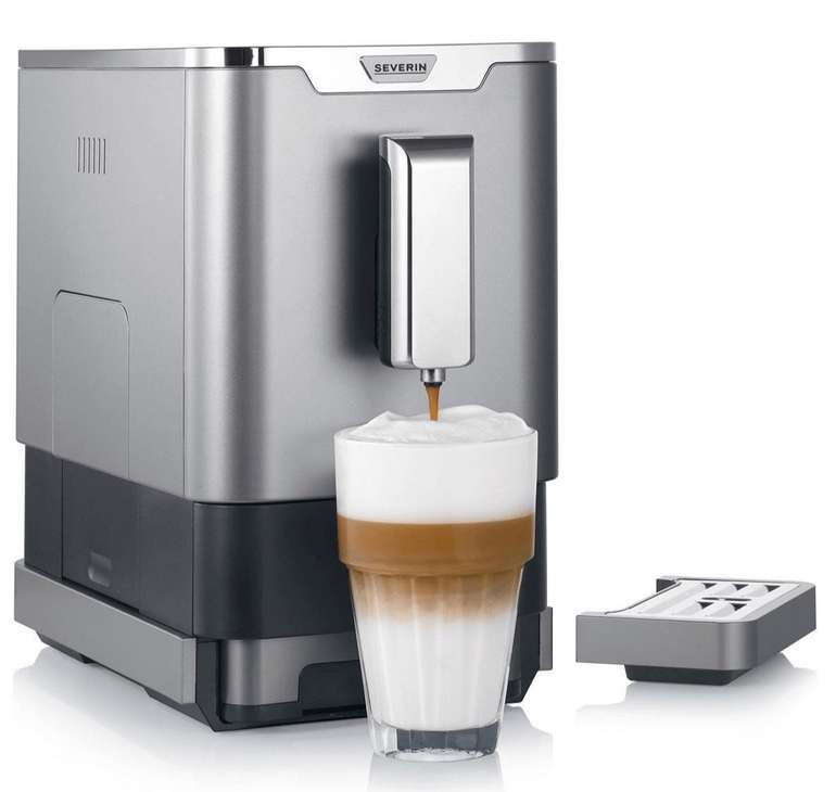 Severin KV 8090 Kaffeevollautomat (1,1 Liter Tank, Kegelmahlwerk) für 179,32€ inkl. Versand (statt 238€)