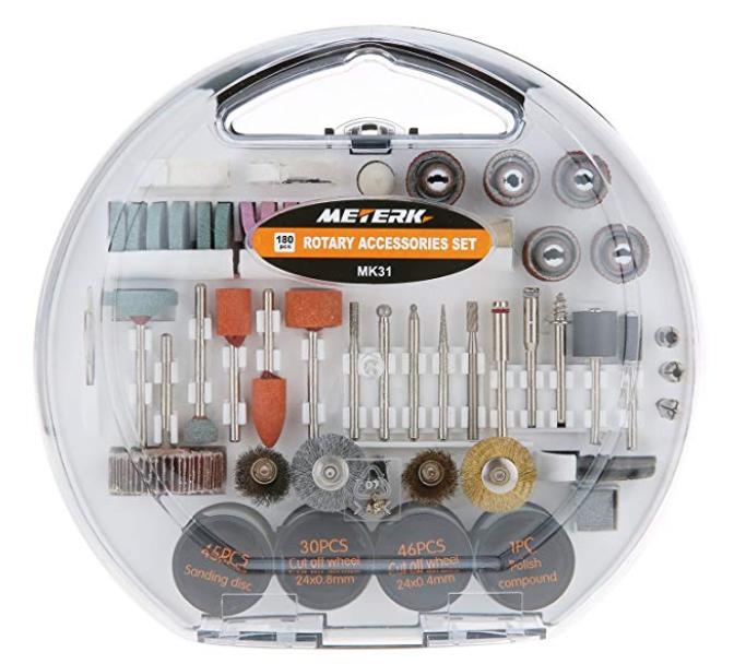 Meterk Mehrzweck bzw. Multifunktionswerkzeug Zubehörset für 8,99€ inkl. Prime