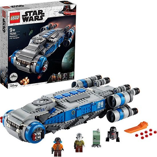 LEGO Star Wars 75293 - I-TS Transportschiff der Rebellen für 89,99€ (statt 100€)