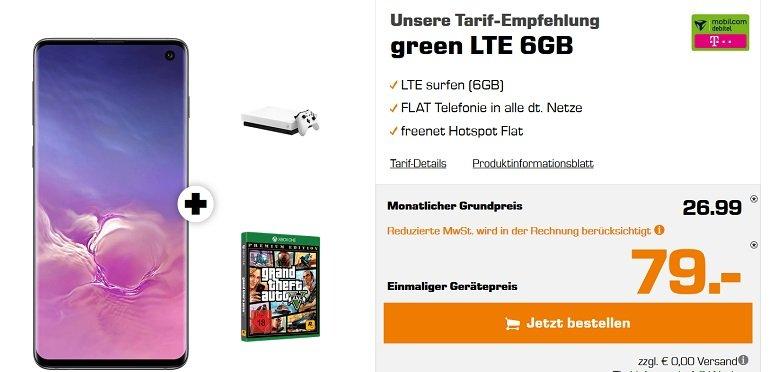Samsung Galaxy S10 + Xbox One X Limited Edition Telekom 6GB LTE