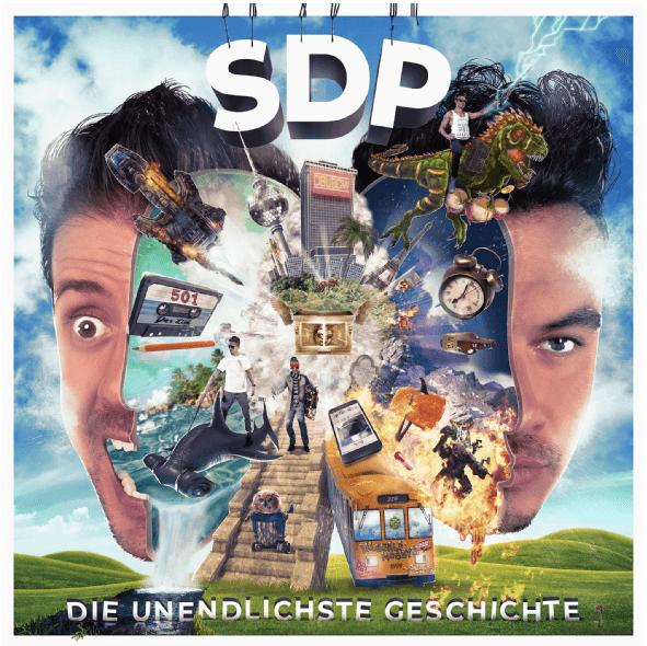 SDP - Die unendlichste Geschichte (CD) für 10,39€ inkl. Versand (statt 15€)
