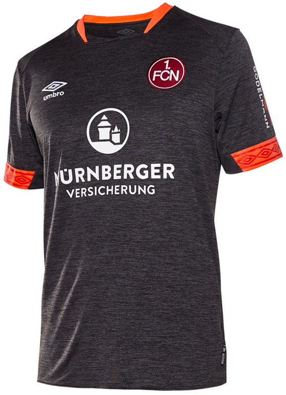 1. FC Nürnberg Umbro Herren Ausweichtrikot 18/19 für 29,99€ inkl. Versand