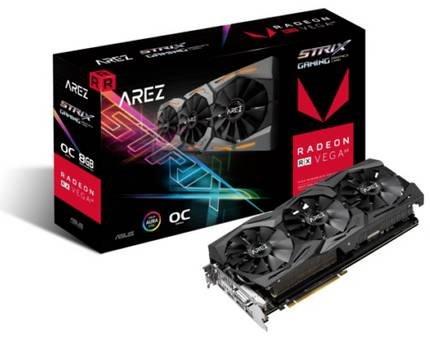 Asus Radeon AREZ Strix RX Vega 56 OC 8GB Grafikkarte für 253,89 inkl. VSK