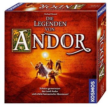 Kosmos Die Legenden von Andor (691745 - Kennerspiel des Jahres 2013) für 24,99€