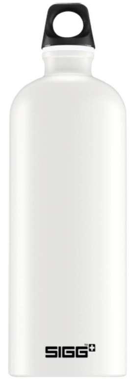 SIGG Traveller Touch 1 Liter Trinkflasche in Schwarz oder Weiß für 9€ inkl. VSK