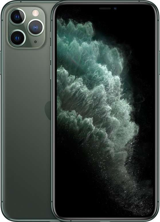 Apple iPhone 11 Pro Max 64GB in Nachtgrün für 1.159€ inkl. VSK (statt 1.225€)