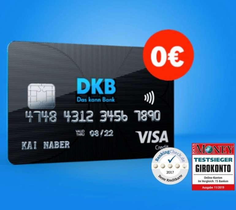 DKB: Beitragsfreies Girokonto + VISA Karte - weltweit kostenlos Geld abheben