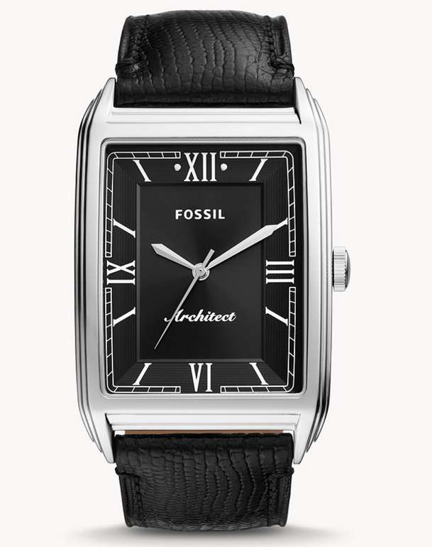 Fossil Uhr ARC-03 aus Leder in schwarz für 50,15€ inkl. Versand (statt 119€) - Newsletter!