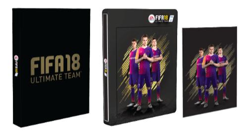 FIFA 18 (SteelBook Edition) [PlayStation 4] für 29,99€ (statt 38€)