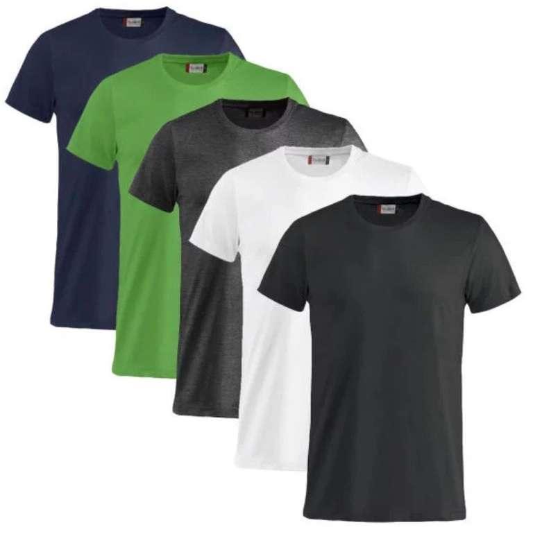 """5er Pack Clique Shirt """"Basic-T"""" für 22,50€ inkl. Versand (statt 31€)"""