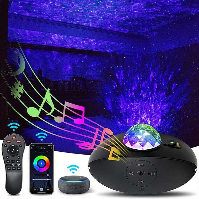 Jesaleton Sternenhimmel Projektor (Alexa/Google kompatibel, App) für 17,99€ (statt 34€)