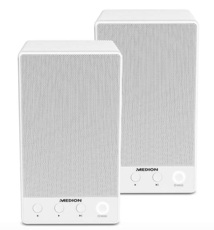 Doppelpack Medion Life P61084 Multiroom WLAN Lautsprecher für 39,95€