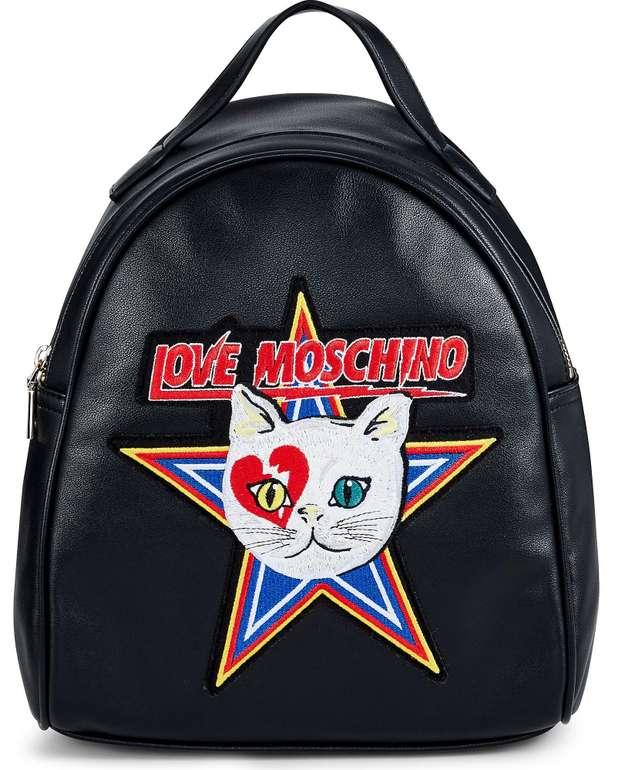 Love Moschino Rucksack in schwarz (32027101) für 82,88€ inkl. Versand (statt 128€)
