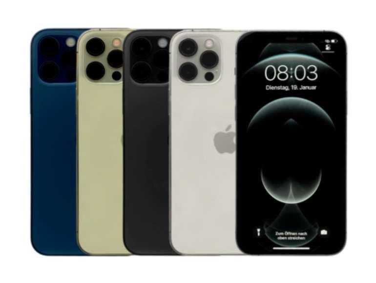 Apple iPhone 12 Pro Max mit 128GB (vers. Farben) zu je 940€ inkl. Versand (statt 1.030€) - B-Ware!