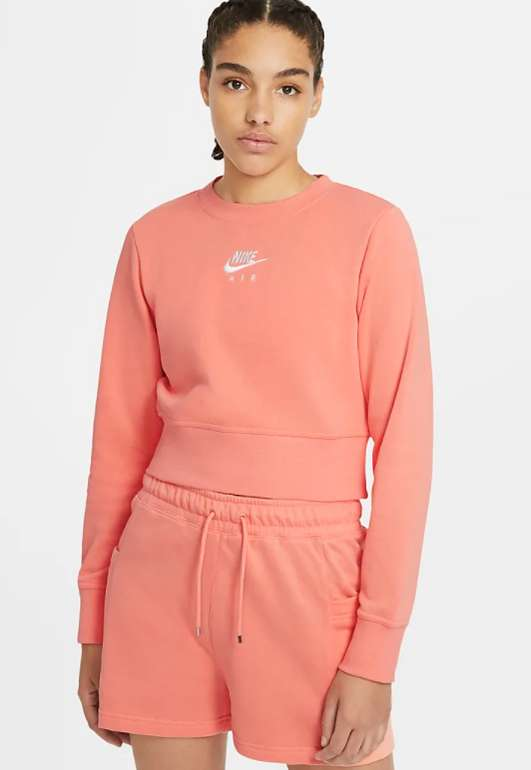 Nike Air Damen-Rundhalsshirt in Orange für 25,18€ inkl. Versand (statt 45€) - Nike Member!