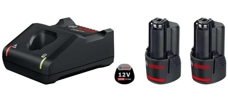Ebay: 15% Rabatt auf Bosch Geräte - z.B. Bosch Starter-Set GAL 12V-40 + 2x GBA 3,0 Ah Akku für 58,65€