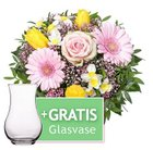 Lidl Blumen mit verschiedenen Sträußen zum Weltfrauentag ab 17,99€ + Gratis Vase