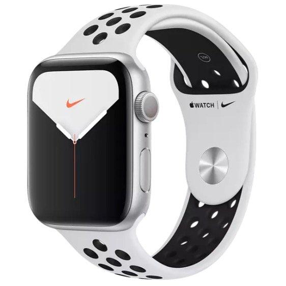 Apple Watch Nike Series 5 Smartwatch (44mm, GPS) für 349€ (statt 399€)