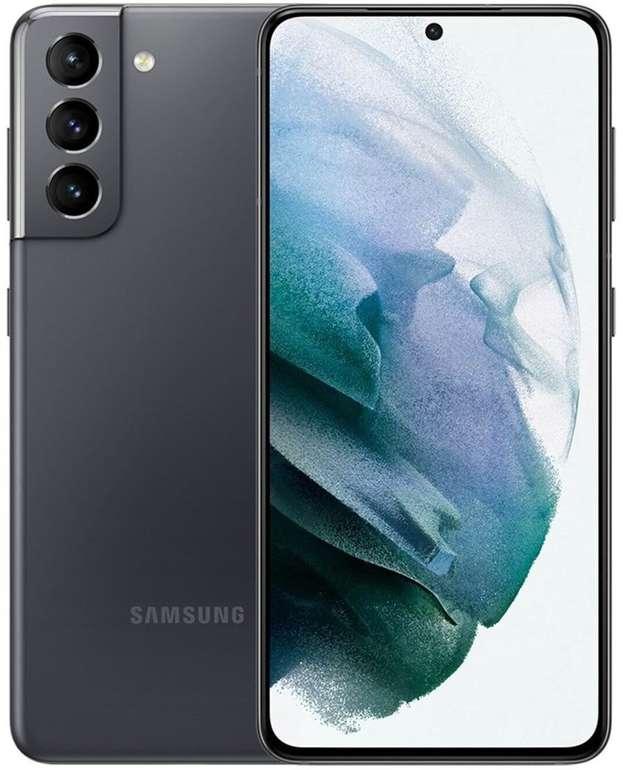 Samsung Galaxy S21 5G (+49€) + Vodafone Smart L+ (15 GB LTE, Allnet- und SMS-Flat) für 34,99€ mtl.