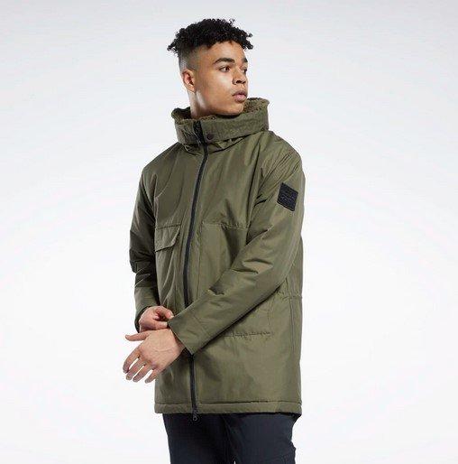 Reebok Outerwear Urban Fleece Herren Parka für 105€ inkl. Versand (statt 153€)
