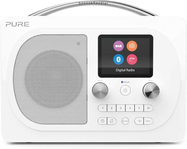 Pure Evoke H4 tragbares Digitalradio mit Farbdisplay in 2 Farben (DAB+, Bluetooth, UKW) für je 99€ inkl. Versand