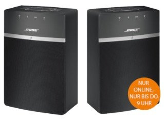 Saturn Late Night Shopping mit Bose Soundtouch 10X2 Kit Wireless für 299€