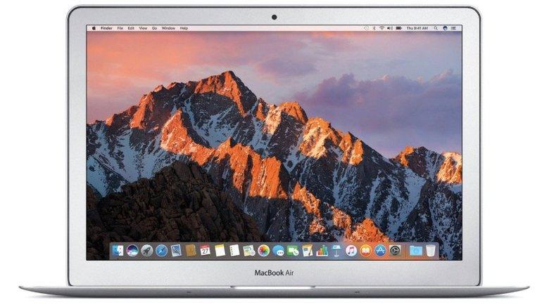 """13"""" Apple MacBook Air 2017 (Intel i5, 1,8GHz, 8GB RAM, 256GB SSD) ab 989€"""
