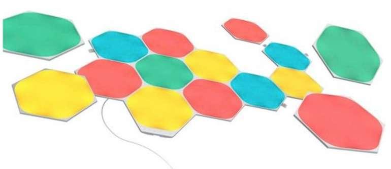 20% Rabatt auf Wohnen (Möbel, Heimtextilien etc.) bei Otto - z.B. nanoleaf LED Panel Shapes Hexagons Starter Kit 15 PK für 243,99€