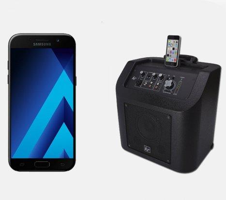 Vodafone Comfort Allnet (2GB) + Galaxy A5 / iPhone SE & KitSound für 29,99€