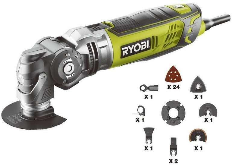 Ryobi RMT300-TA Multitool 300W inkl. 30 tlg Zubehör für 89,99€ inkl. Versand (statt 130€)