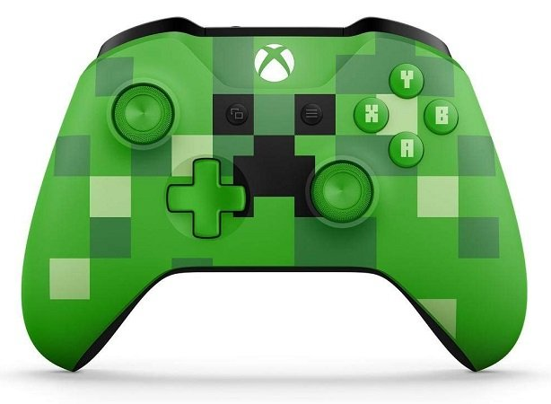Microsoft SE Xbox One Wireless Controller im Minecraft Creeper Design für 36,90€