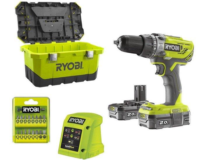 Ryobi R18PD3-220T Schlagbohrer 2