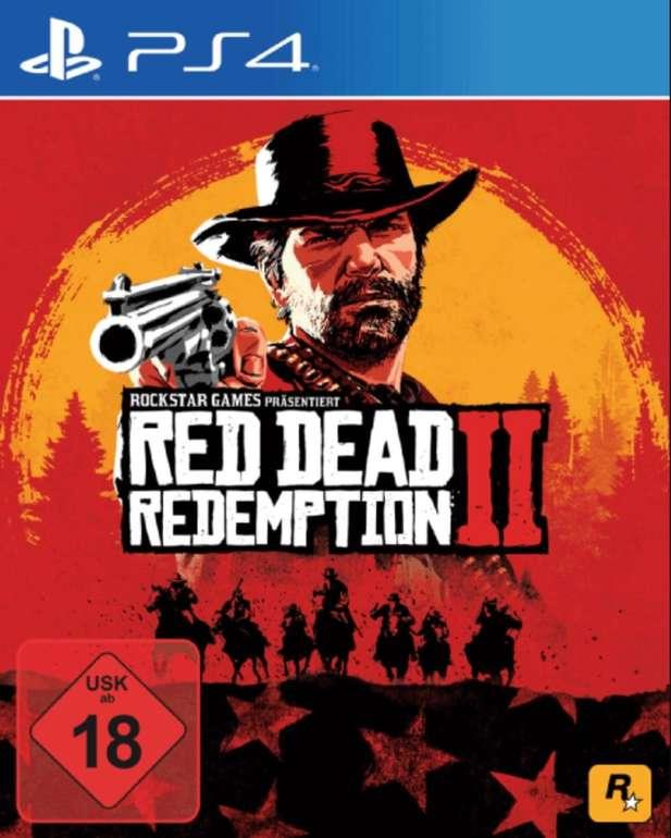 Saturn Weekend Deals XXL mit noch mehr Deals - z.B. Red Dead Redemption 2 (PS4) für 22€