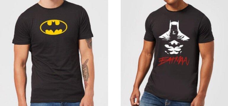 DC Comics T-Shirt + Tasse